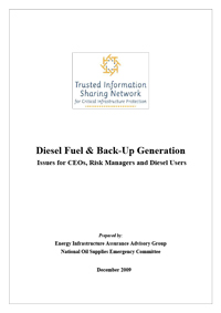 Diesel Fuel and Back-up Generation Issue