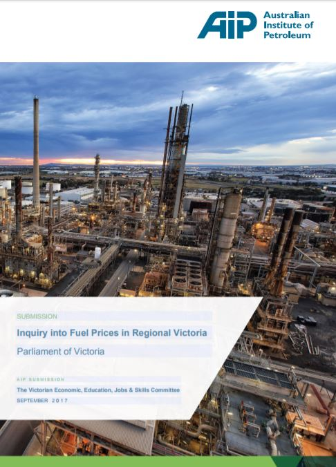 Submission to Victorian Parliament Inquiry into Fuel Prices in Regional Victoria
