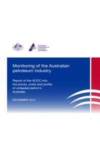 ACCC Formal Price Monitoring Report (December 2014) – Seventh Report