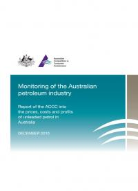 ACCC Formal Price Monitoring Report (December 2010) – Third Report